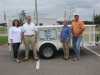 Keep Mississippi Beautiful provided a trailer for our maintenance equipment.