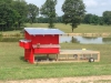 Chicken tractor at Algoma