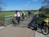 Cyclists between Pontotoc & Ecru - 1