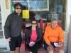 Cyclists from Atlanta, GA & Columbus, MS at Algoma Store