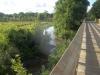 Bridge and stream near Houston