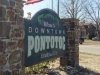 City of Pontotoc near midpoint of trail