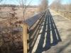 Winter scene - bridge near Houston
