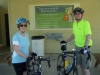 Cyclists Linda & Tom Senter, Russellville, AL