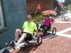 Father and daughter finish their ride in New Albany