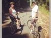 Teresa & Mike Montgomery enjoy the trail